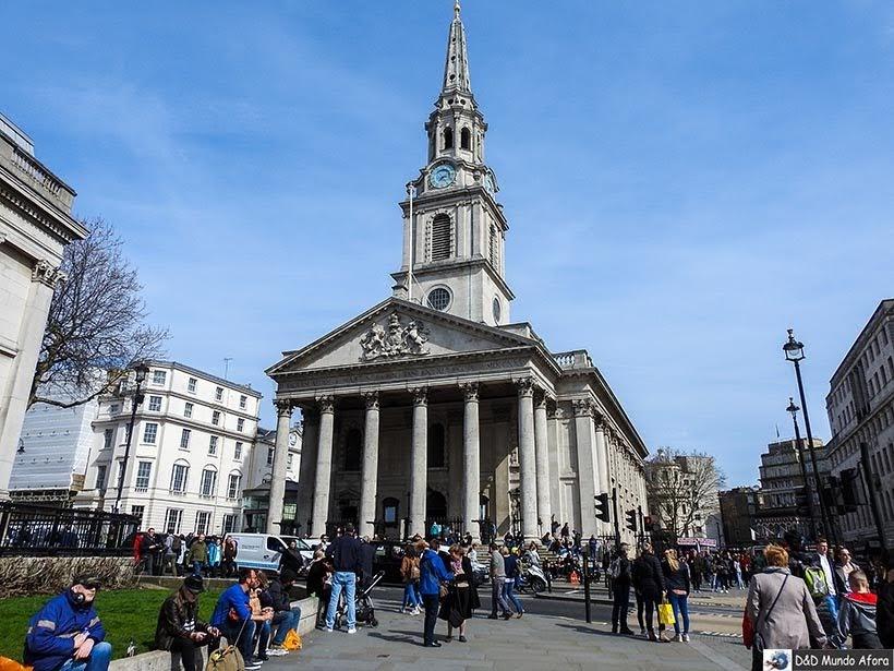 Igreja St Martin-in-the-Fields- O que fazer em Londres: 48 atrações imperdíveis
