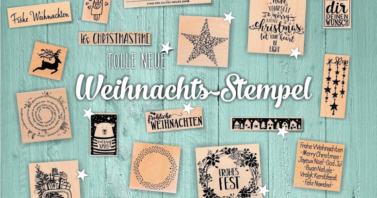 5 € Gutschein & tolle neue Weihnachtsstempel | made-by-imme.de