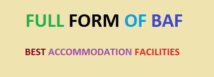 full form of baf