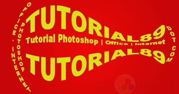 Cara mudah membuat tulisan 3D di Photoshop + Video ...