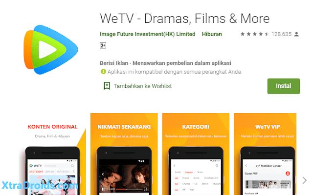 Aplikasi WeTV