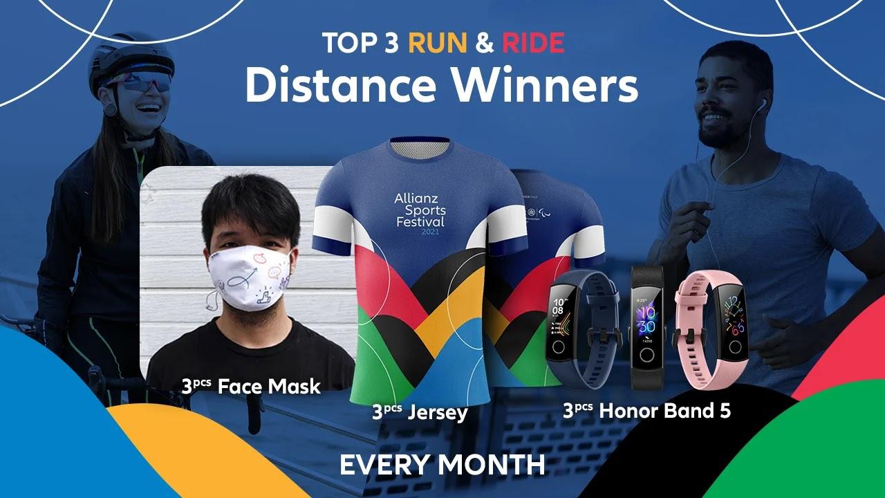 Distance Winner � Allianz Sports Festival • 2021