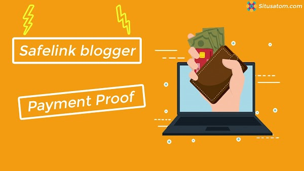 Bukti Pembayaran Dari Safelinkblogger