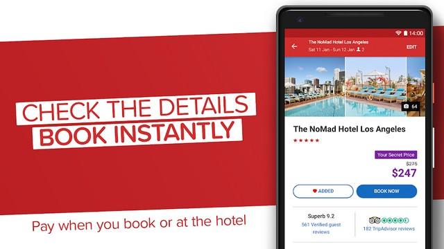 افضل تطبيق لحجز الفنادق للاندرويد