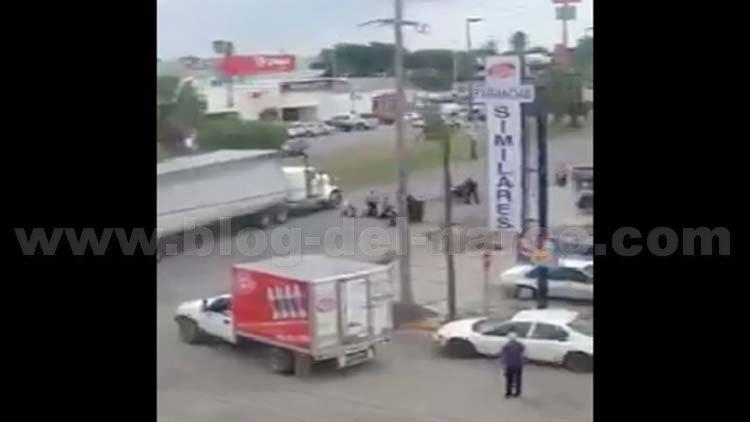 Policía en activo la hace como sicario: asalta y ejecuta a 2 comerciantes en Ciudad Victoria