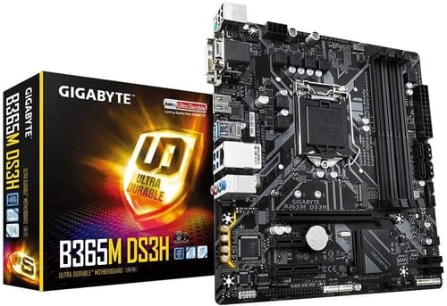 Review GIGABYTE B365M DS3H Motherboard