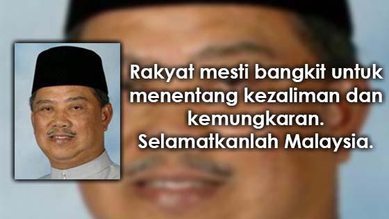Kenyataan Terakhir Muhyiddin Selepas Dikhianati UMNO