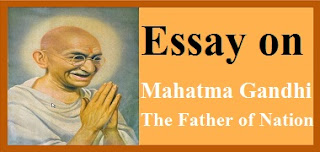 Mahatma Gandhi The Father of Nation