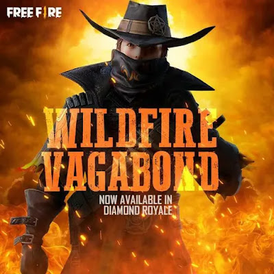 Free Fire Wildfire Vagabond Bundle Redeem Code For Free