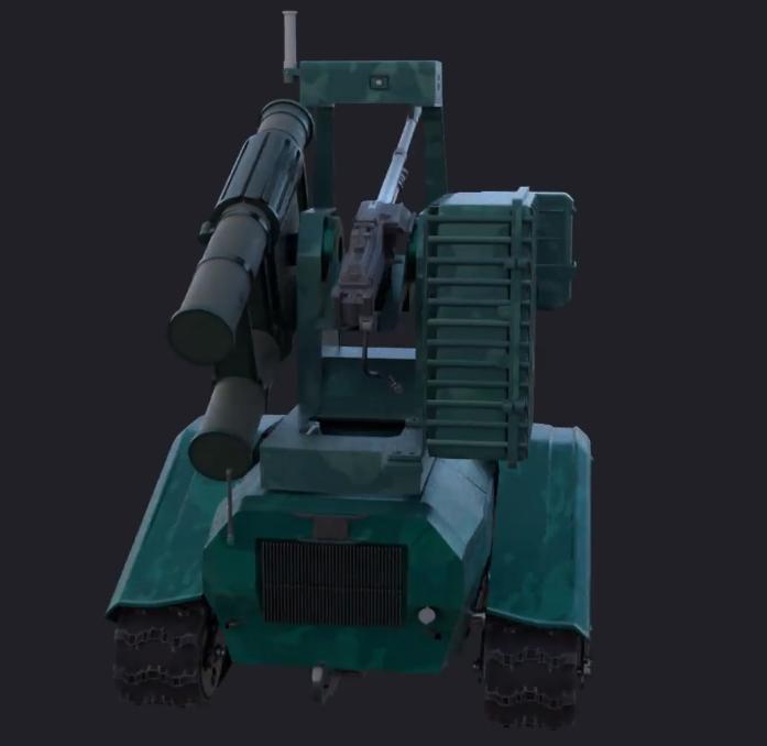 роботизована безпілотна платформа Скорпіон