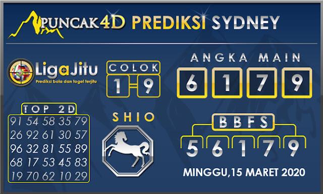 PREDIKSI TOGEL SYDNEY PUNCAK4D 15 MARET 2020