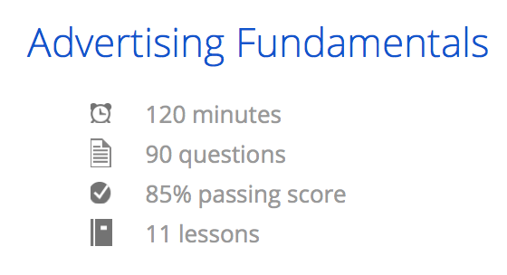 Google AdWords Fundamental Exam Question And Answers ~ Certification ...