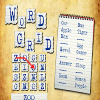 Word Grid (Fun English Educational Game)