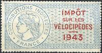 Impôt sur les vélocipèdes 1943
