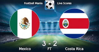 Мексика – Коста-Рика смотреть онлайн бесплатно 30 июня 2019 прямая трансляция в 04:30 МСК.