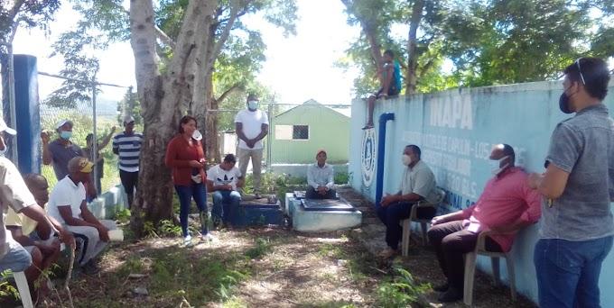 DIRECTOR REGIONAL DE INAPA ACUDE A LLAMADO DE COMUNITARIOS DE CAPULÍN EN VALLEJUELO; CRECEN LAS ESPERANZAS DE LA COMUNIDAD