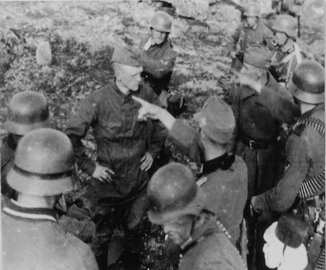 Murmansk captured Soviet soldiers 30 June 1941 worldwartwo.filminspector.com