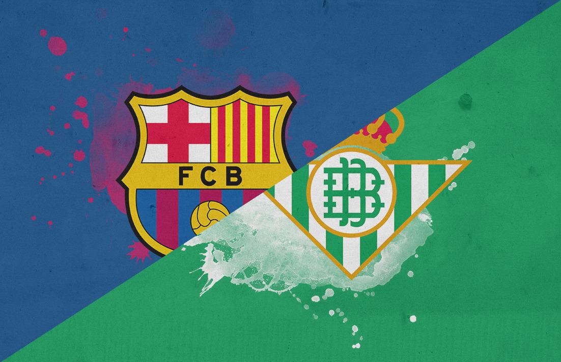 موعد مباراة برشلونة ضد ريال بتيس والقنوات الناقلة في الجولة التاسعة من الدوري الإسباني