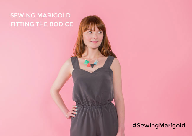 Fitting the Marigold jumpsuit - Tilly and the Buttons