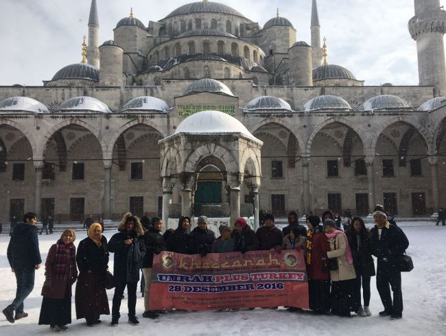 umroh plus turki blue mosque