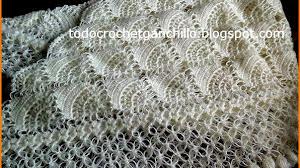 Chal blanco de ensueño - crochet con patrón
