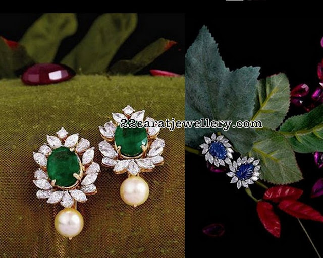 Diamond Studs From Vasundhara