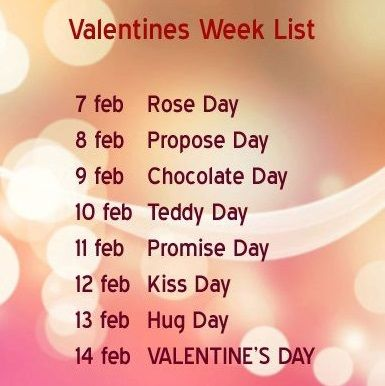 valentine day week list 2019,valentine week list 2018,valentine day,valentine day list,valentine week list,valentine day week full list,valentine day week list 2019 in hindi,valentines day week list status,happy valentines day week list 2019,valentine day 2019 weekly list,valentine week,valentine week 2019,valentine week list 2019,valentines day list 2019,valentine day week list 2018