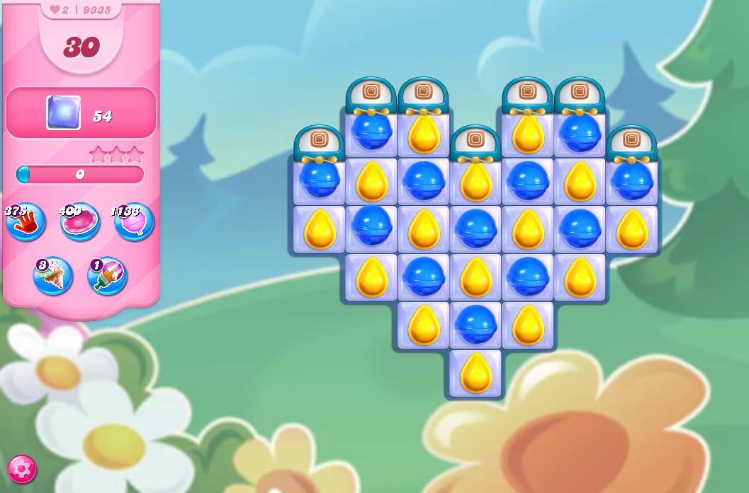 Candy Crush Saga level 9335