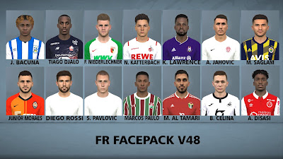 PES 2017 Facepack v48 by FR Facemaker