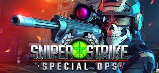 لعبة Sniper Strike Special Ops مهكرة للاندرويد (اخر اصدار)