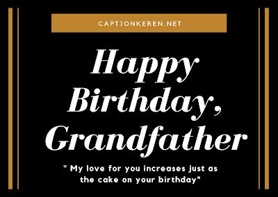 ucapan happy birthday untuk kakek dalam bahasa inggris