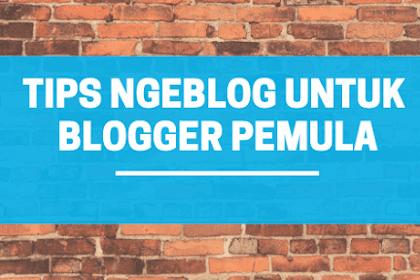 Tips Ngeblog Untuk Blogger Pemula