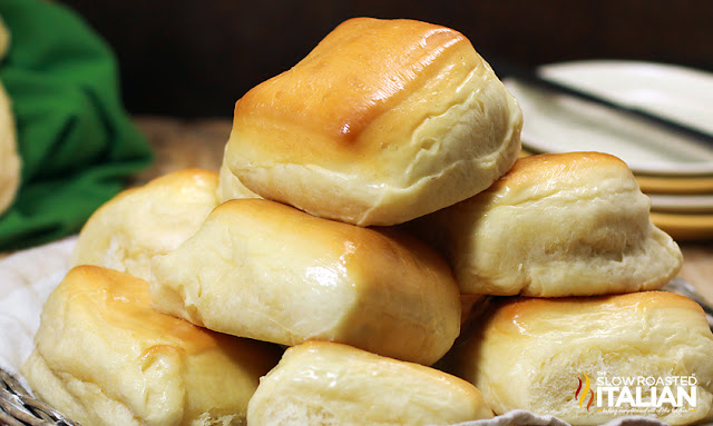 Finished Texas Roadhouse rolls recipe