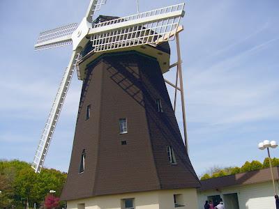 花博記念公園鶴見緑地の風車