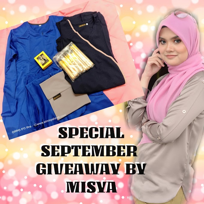 SPECIAL SEPTEMBER GIVEAWAY BY MISYA