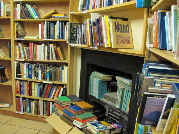 Quinto & Francis Edwards Booksellers bargain basement