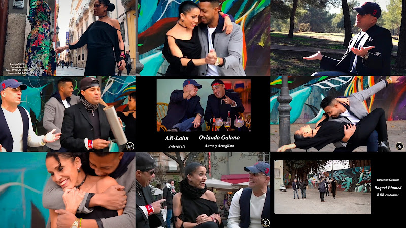 AR-Latin - ¨Confidencia¨ - Videoclip - Dirección: Raquel Plumed - R&R Productions. Portal Del Vídeo Clip Cubano. Música cubana. Cuba.