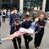 [Video]Selasar Gedung BEI Roboh, Ratusan Orang Terluka