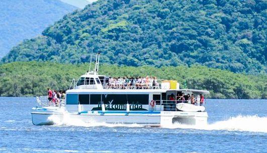 Catamarã fará passeio ao Marujá neste domingo 26/03
