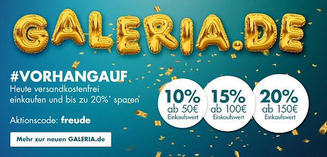 Karstadt.de ist nun GALERIA.de