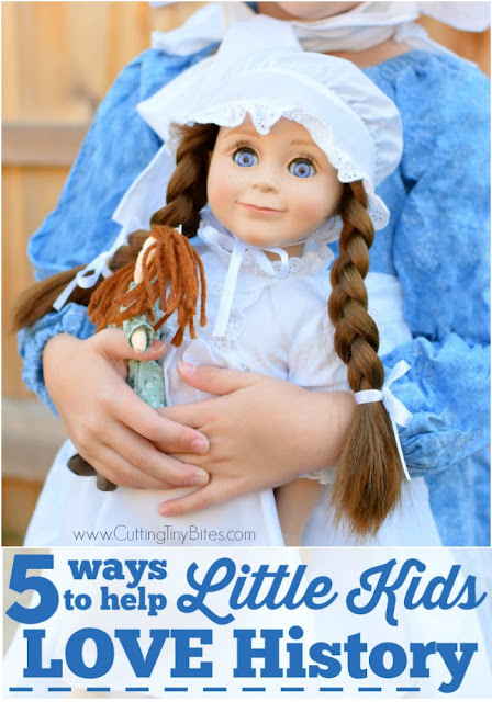 5 Ways To Help Little Kids LOVE History. Instill a love of history in young children by making it fun! These tips for making history fun will help to create a lifelong love of history learning in preschoolers, kindergartners, and early elementary students.
