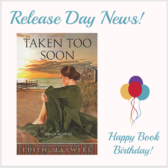 Mystery Lovers Kitchen Release Day News Taken Too Soon By Edith Maxwell