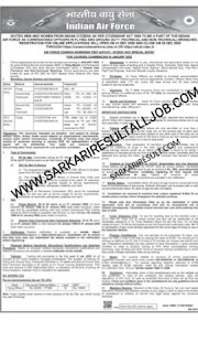 Indian Air force vacancy