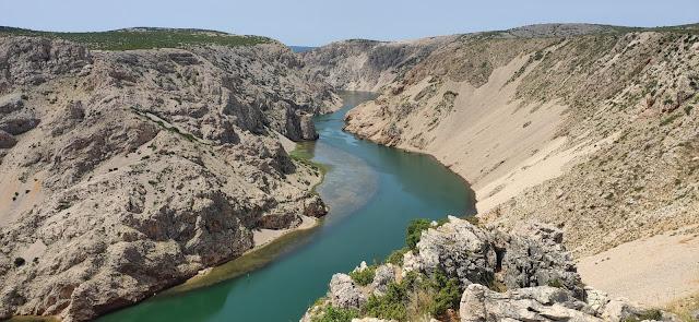 kanion rzeki Zrmanje, okolice Zadaru, co zobaczyć?