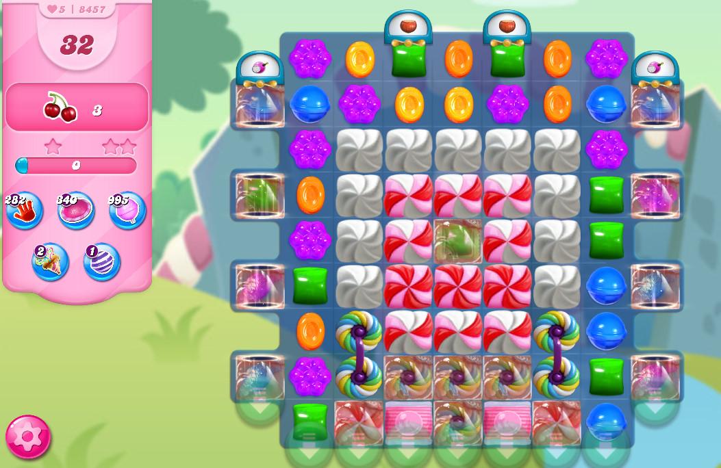 Candy Crush Saga level 8457