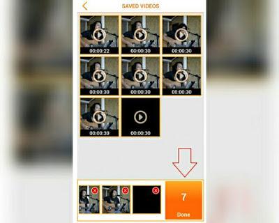 upload video lebih dari 30 detik di WhatsApp Upload video