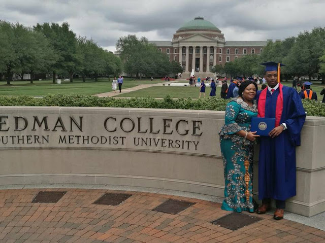 Another Okorocha's Son Graduates From American University