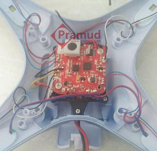 bongkar, repair, perbaiki drone syma X5HW indonesia yang rusak - pramud.com