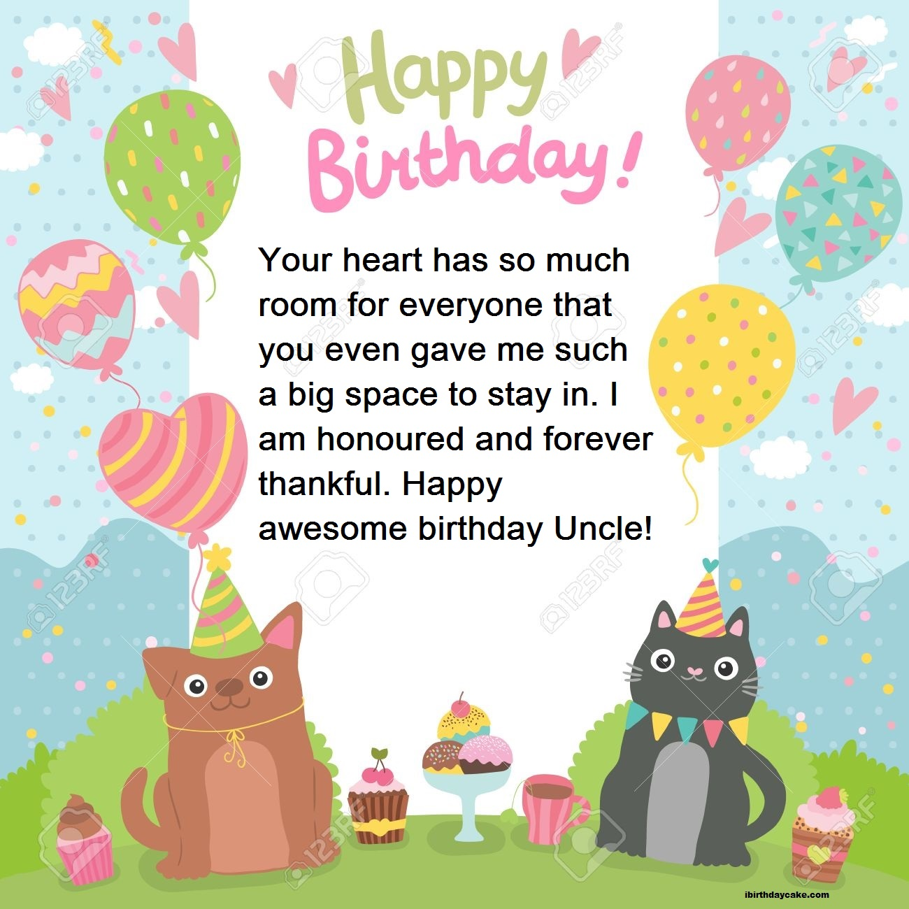 120 Best Happy Birthday Wishes For Uncle Images In Hindi English