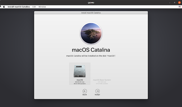 diske macOS kurulumu